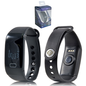 MyFit Fitness Band with Heart Rate Monitor - Includes laser engraving logo