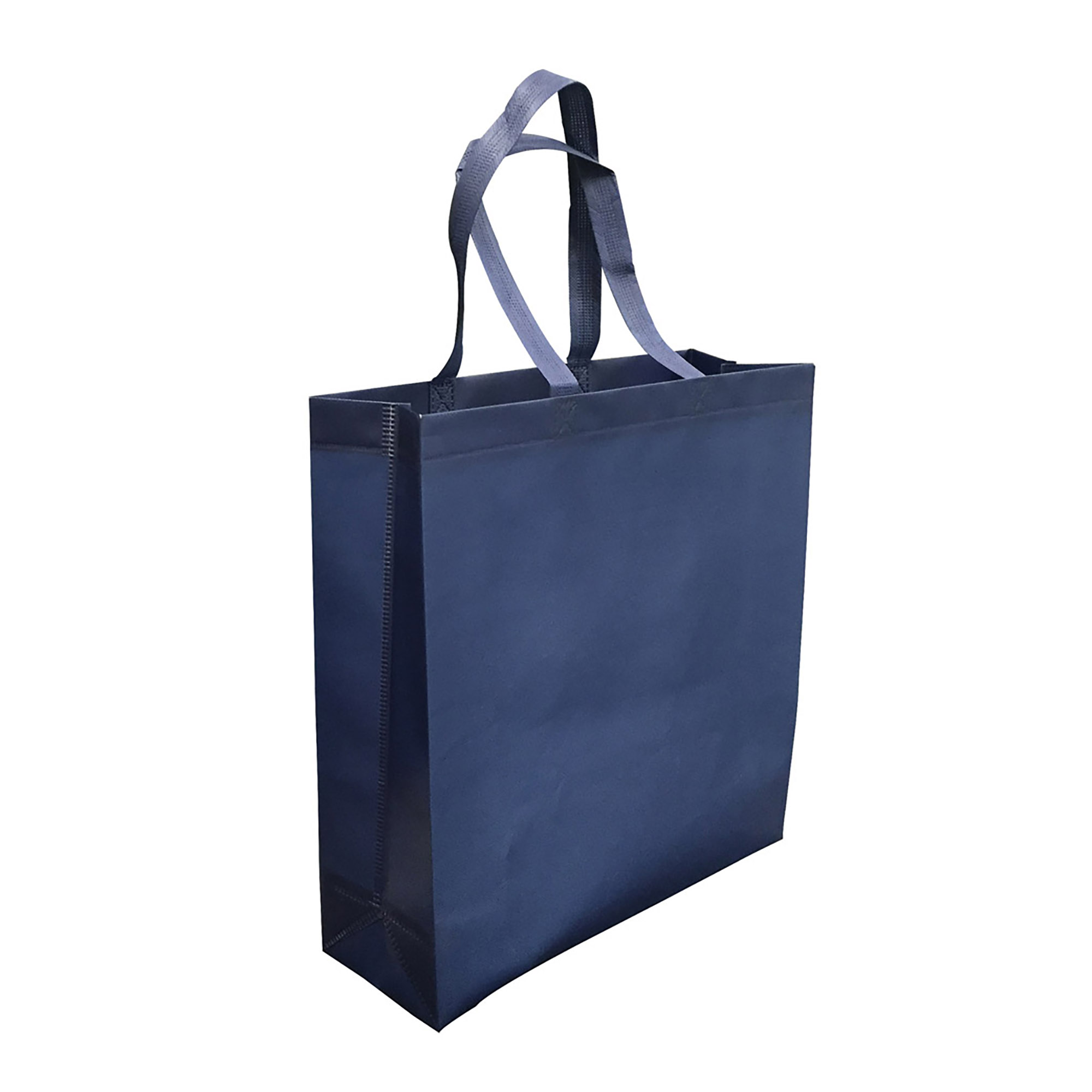 LAMINATED NON WOVEN BAG WITH LARGE GUSSET - 1 Colour Print, From $1.36