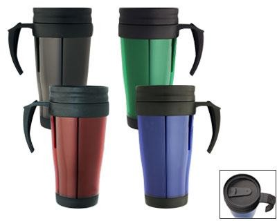 Travel Mugs - Includes a 1 colour printed logo, From $3.67