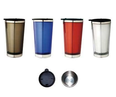 Travel Mugs - Includes a 1 colour printed logo, From $3.77