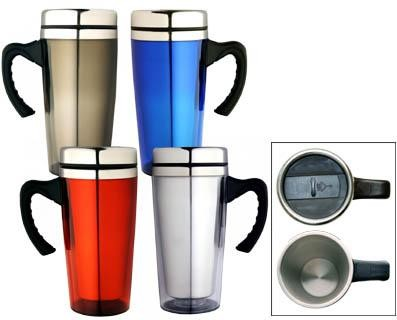 Travel Mugs - Includes a 1 colour printed logo, From $5.19