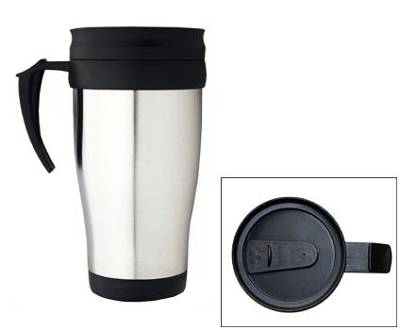 Travel Mugs - Includes a 1 colour printed logo, From $4.12