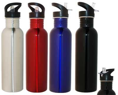 800ml Stainless Steel Water Bottle - Includes a 1 colour printed logo