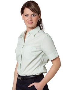 Women's Balance Stripe Short Sleeve Shirt, From $23.5