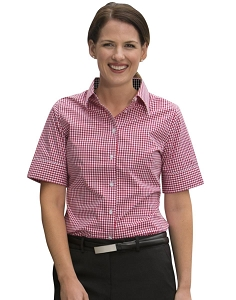 Women's Gingham Check S/S Shirt, From $23.5