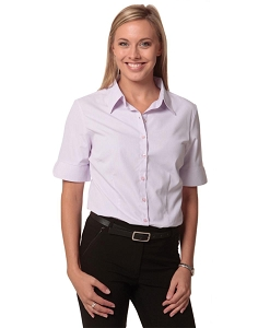 Women's Mini Check S/S Shirt, From $22.9