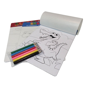 A5 colouring in magnet (Colour your own Magnet) bag with pencil, From $1.83