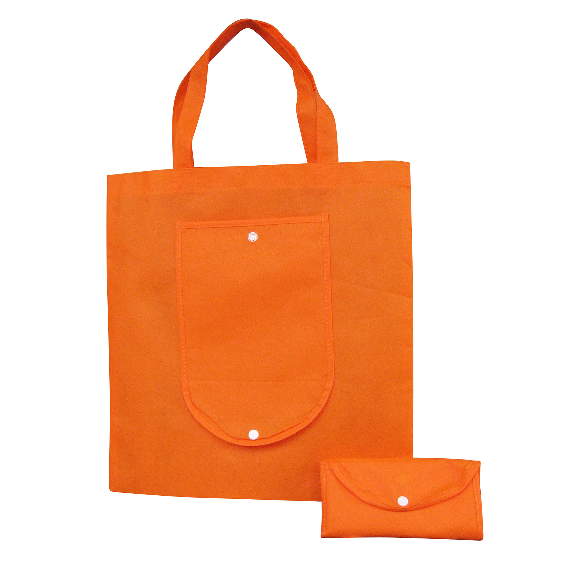 NON WOVEN FOLDABLE SHOPPING BAG - 1 Colour Print, From $1 -