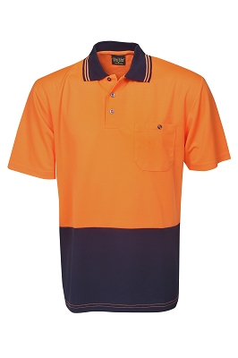 Light Weight Hi Vis Cooldry Polo, S/S