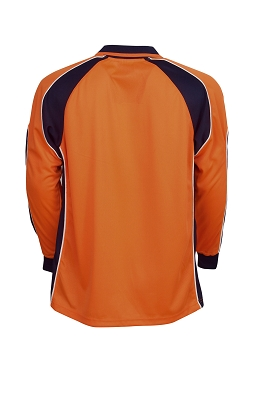 Hi Vis Cooldry Side Panel Polo, L/S