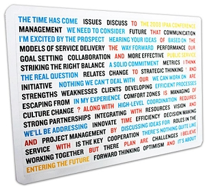 Poetry Magnets 210 x 297 mm - Includes a full colour print, From $1.93