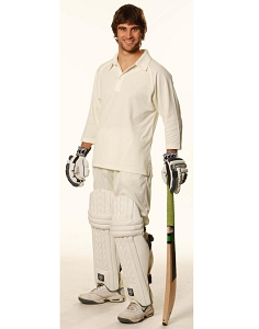 Mens 3/4 sleeve cricket polo, From $14.4