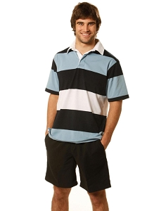 Men's short sleeve rugby top, From $22.2