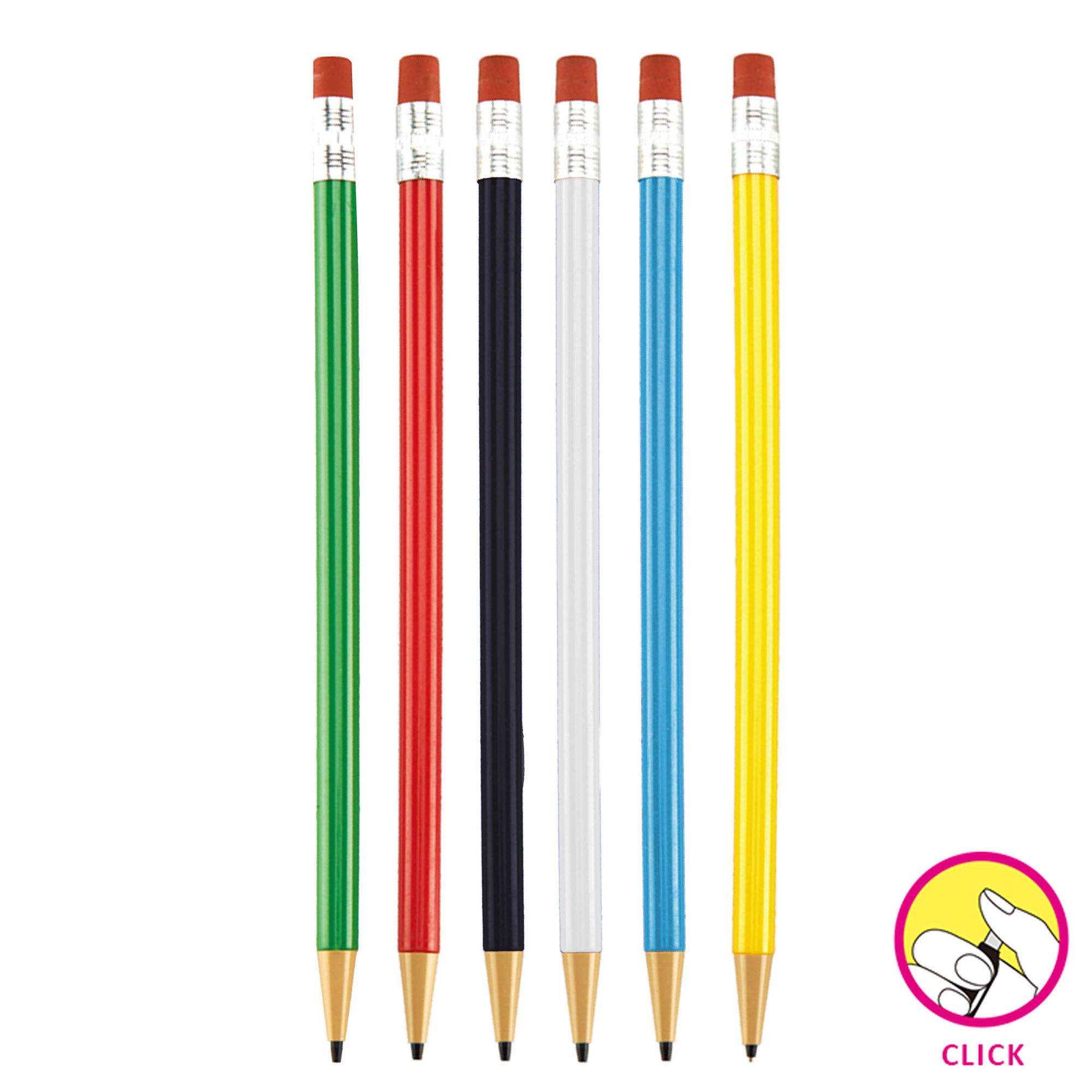 ROUND MECHANICAL PENCIL - 1 Colour Print, From $0.37