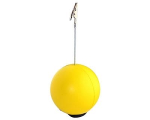 Stress Ball Note Holder - Includes a 1 colour printed logo