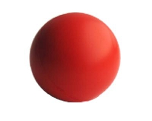 Stress Ball Red - Includes a 1 colour printed logo