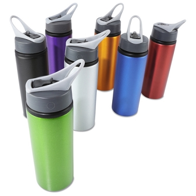 ALUMINIUM SPORT BOTTLE - Includes laser engraving, From $3.62
