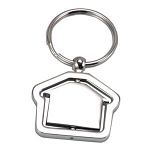 House Shape opener key ring -  Includes laser engraving logo, From $1.86