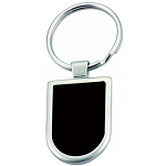 Shield Shape Key ring  -  Includes laser engraving logo