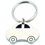 CAR SHAPE KEY RING -  Includes laser engraving logo, From $1.73