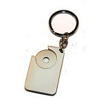 TROLLEY KEY RING -  Includes laser engraving logo