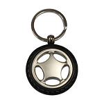 WHEEL SHAPE KEY RING  -  Includes laser engraving logo, From $1.86