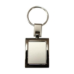 Rectangular Key ring -  Includes laser engraving logo, From $1.86