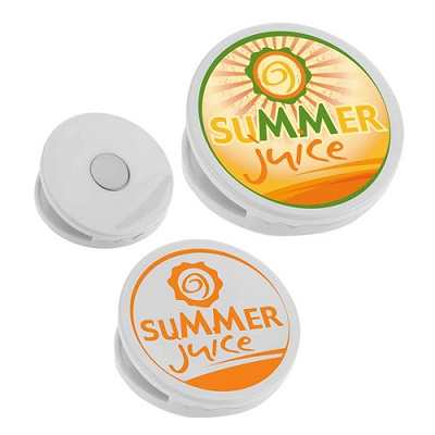 FRIDGE MAGNET CLIP ROUND - 1 Colour Print, From $0.72