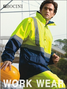 UNISEX ADULTS HI-VIS MESH LINING JACKET WITH REFLECTIVE TAPE, From 45.61