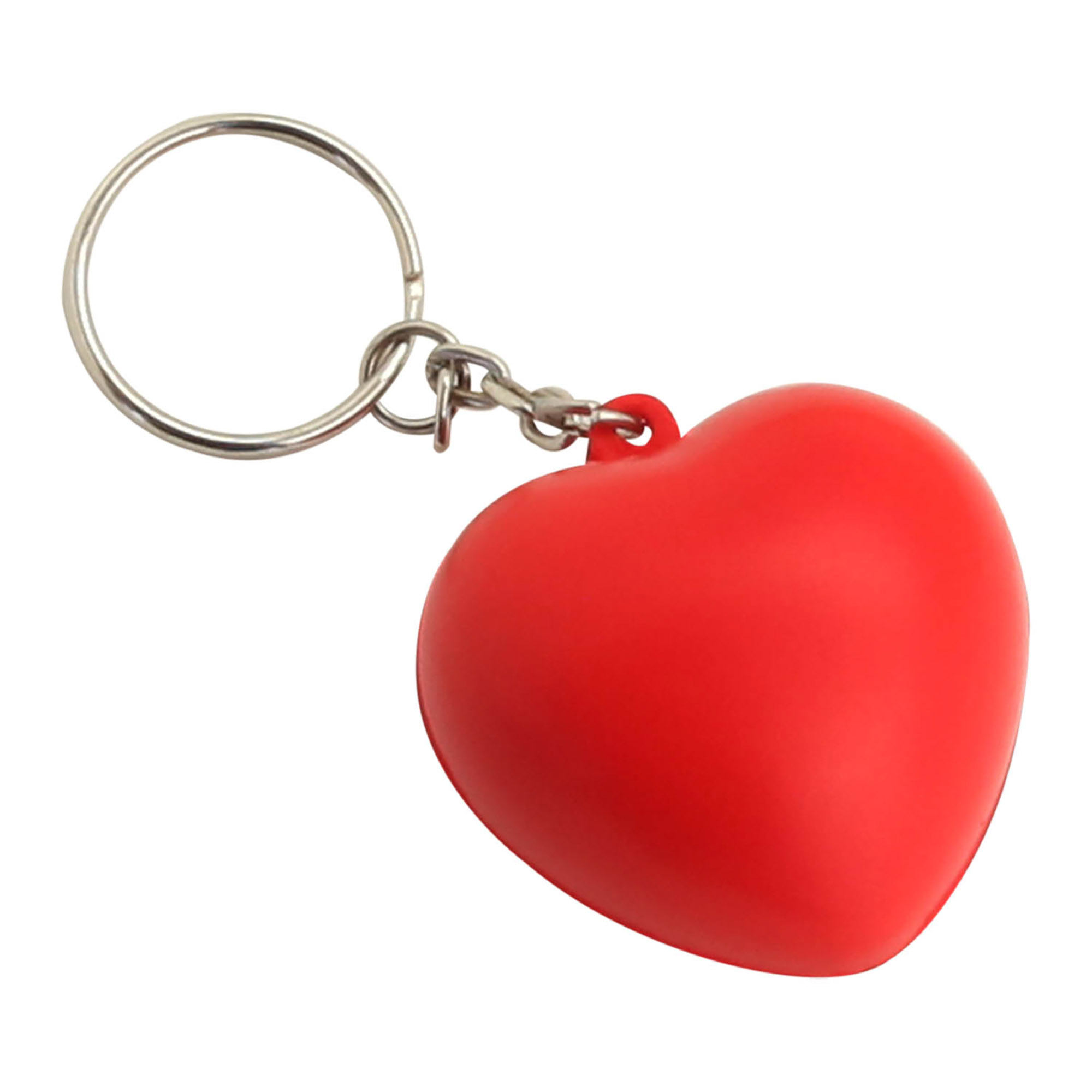 STRESS HEART KEY RING - 1 Colour Print, From $0.57