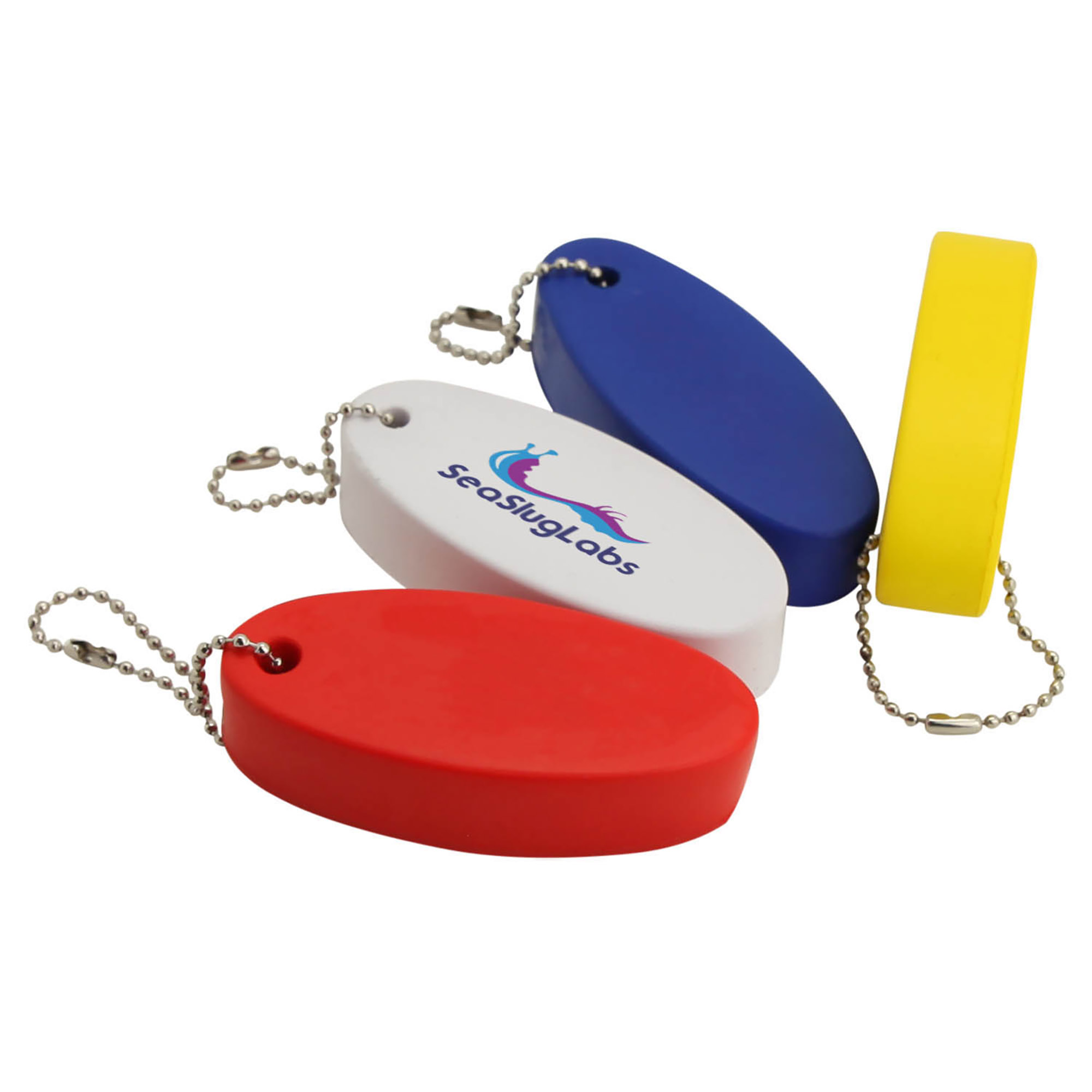 STRESS FLOATING KEY RING - 1 Colour Print, From $0.67