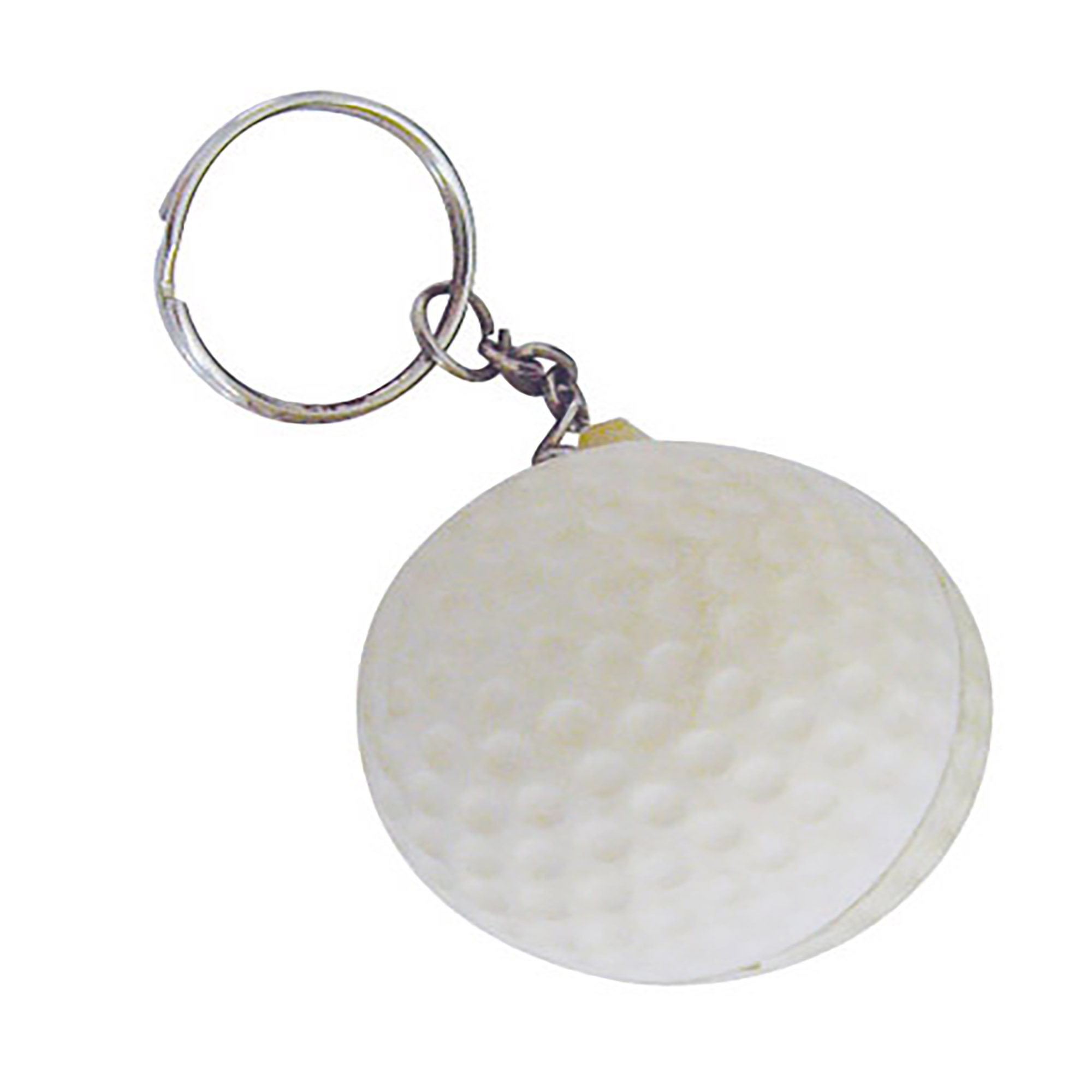 STRESS GOLFBALL KEYRING - 1 Colour Print, From $0.56