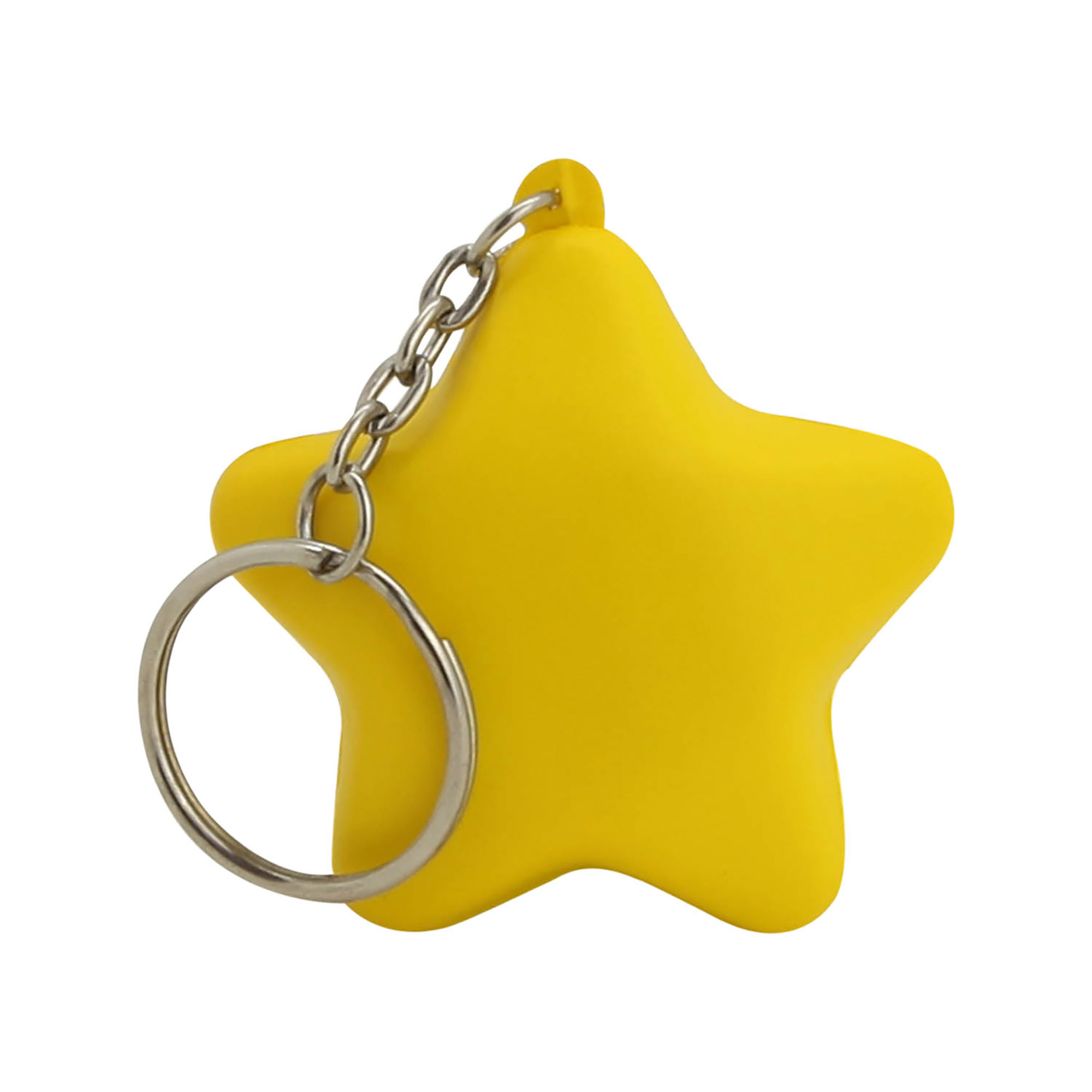 STRESS STAR KEYRING - 1 Colour Print, From $0.56