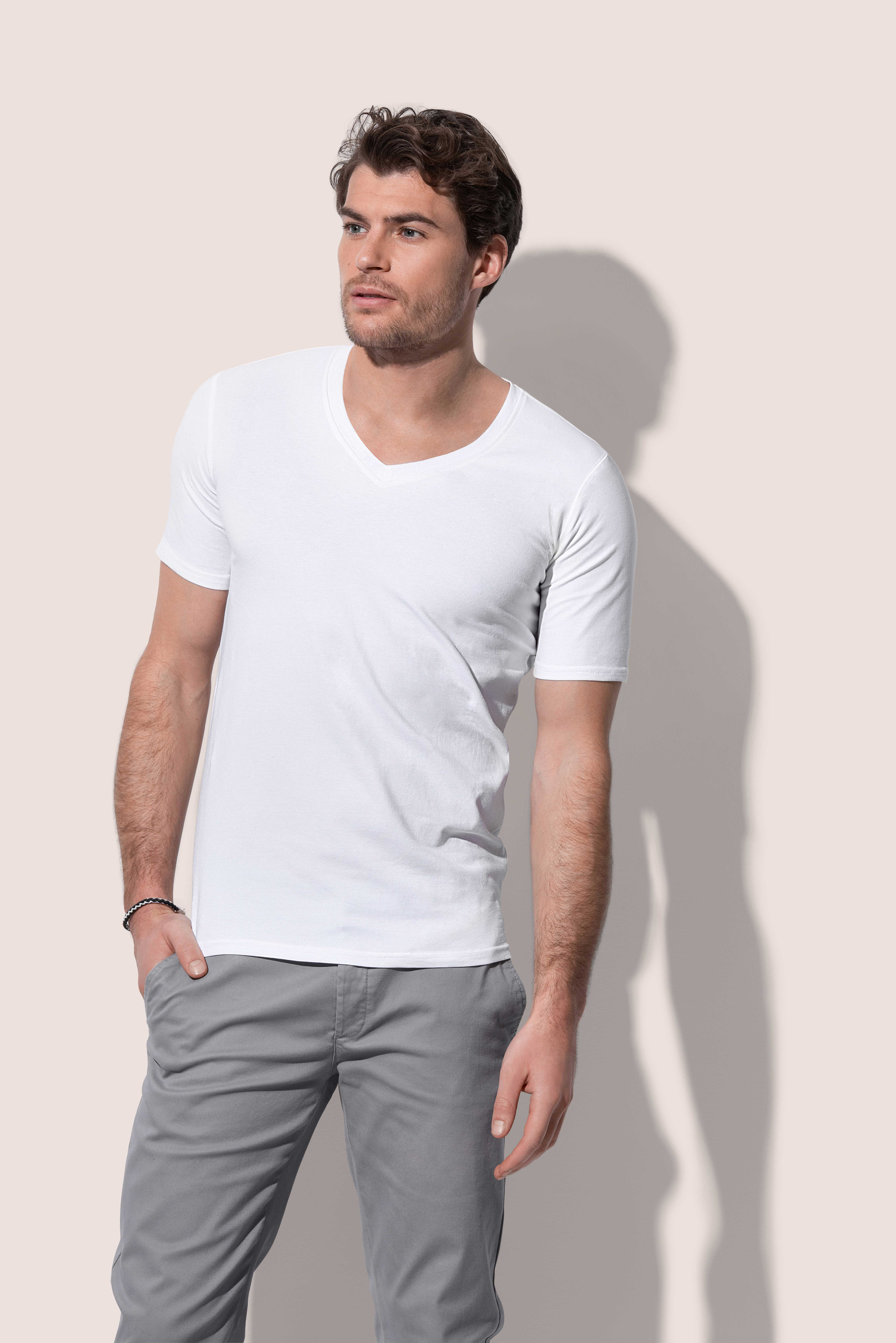 Men's Dean Deep V-neck
