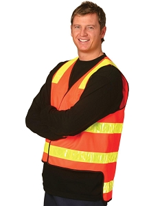 Hi-Vis Vic Road safety vest., From $24.8