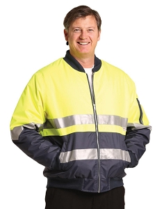 Hi-Vis Two Tone Flying Jacket With 3M Tapes, From $41.7
