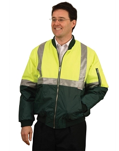 Hi-Vis flying jacket silver tapes, From $35.2