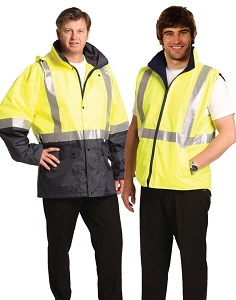 Hi-Vis Three in One Safety Jacket with 3M Tapes, From $78.1
