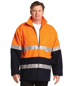 Hi-Vis Two Tone Bluey Safety Jacket with 3M Tapes, From $89.8