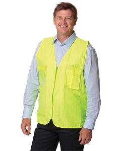 Hi-Vis Safety Vest with ID Pocket, From $6.61