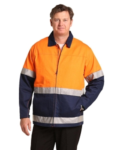 Hi-Vis Two Tone Work Jacket With 3M Tapes, From $84.6
