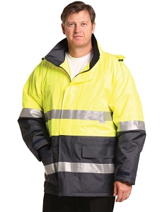 Hi-Vis Long Line Safety Jacket With 3M Tapes, From $52.1