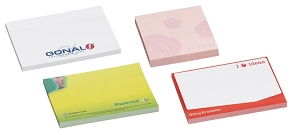Stuk Note Pad 70x100 White 4col 25 Leaf, From $0.56