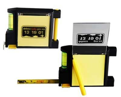 4-In-1 Tape Measure - Includes a 1 colour printed logo