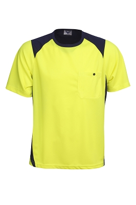 Cooldry Hi Vis side panel T-shirt