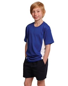 kids cooldry S/S contrast tee, From $8.69