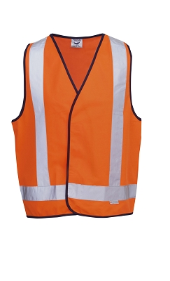 Hi-Vis Safety Vest(day/night X pattern)