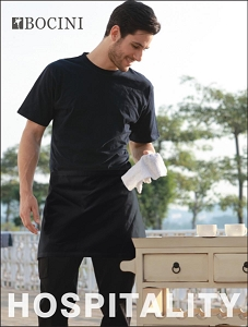POLYESTER DRILL QUARTER APRON -NO POCKET, From 3.62