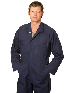 Men's Cotton Drill Action Back Coverall-Regular, From $48.9