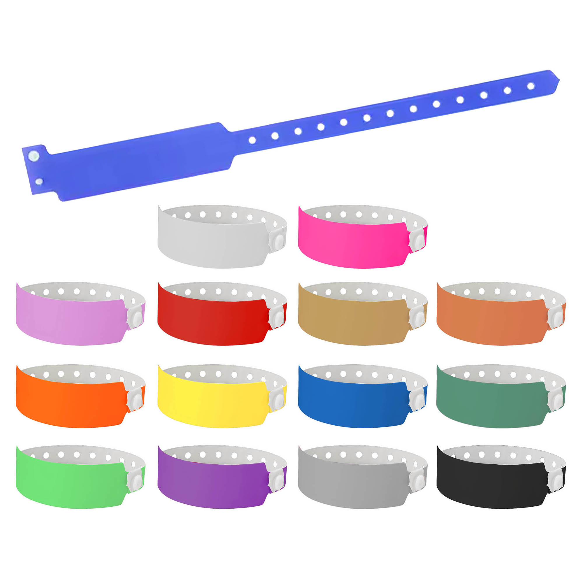 Code Plastic Wrist Band 25mm
